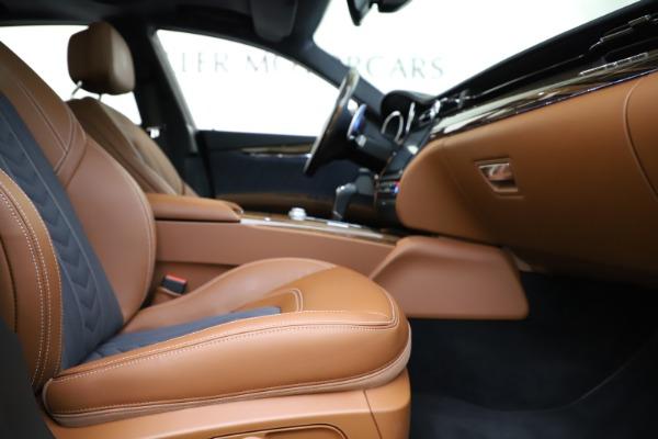 Used 2017 Maserati Quattroporte S Q4 GranLusso for sale $59,900 at Pagani of Greenwich in Greenwich CT 06830 23