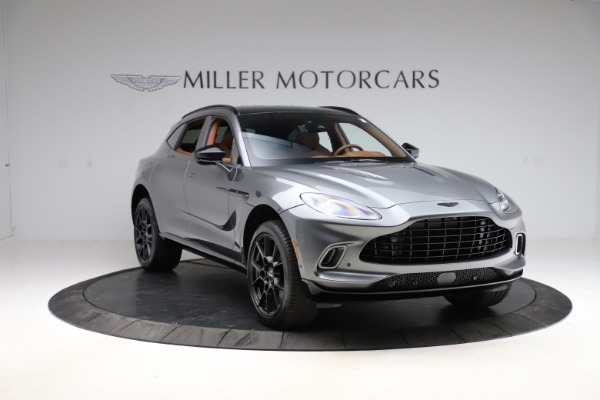 New 2021 Aston Martin DBX SUV for sale $229,486 at Pagani of Greenwich in Greenwich CT 06830 10