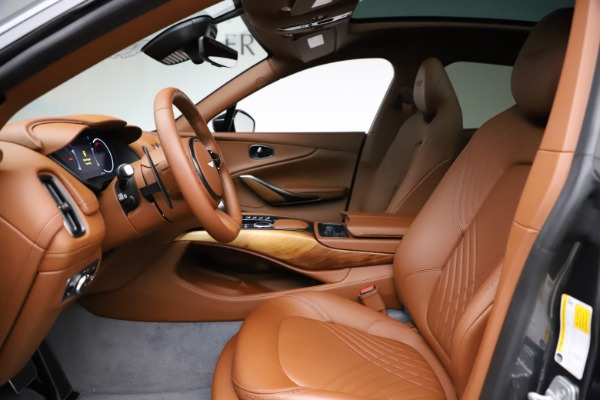 New 2021 Aston Martin DBX SUV for sale $229,486 at Pagani of Greenwich in Greenwich CT 06830 12
