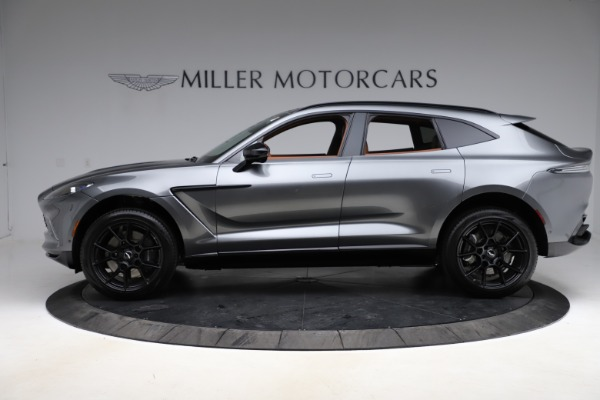 New 2021 Aston Martin DBX SUV for sale $229,486 at Pagani of Greenwich in Greenwich CT 06830 2