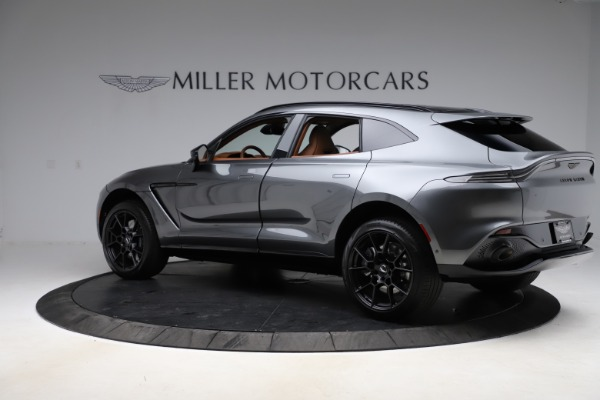 New 2021 Aston Martin DBX SUV for sale $229,486 at Pagani of Greenwich in Greenwich CT 06830 3