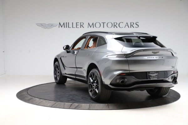 New 2021 Aston Martin DBX SUV for sale $229,486 at Pagani of Greenwich in Greenwich CT 06830 4