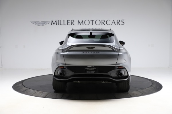 New 2021 Aston Martin DBX SUV for sale $229,486 at Pagani of Greenwich in Greenwich CT 06830 5
