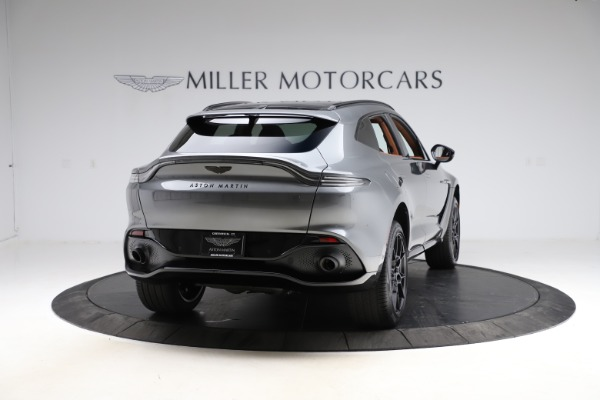 New 2021 Aston Martin DBX SUV for sale $229,486 at Pagani of Greenwich in Greenwich CT 06830 6