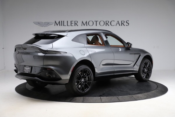 New 2021 Aston Martin DBX SUV for sale $229,486 at Pagani of Greenwich in Greenwich CT 06830 7