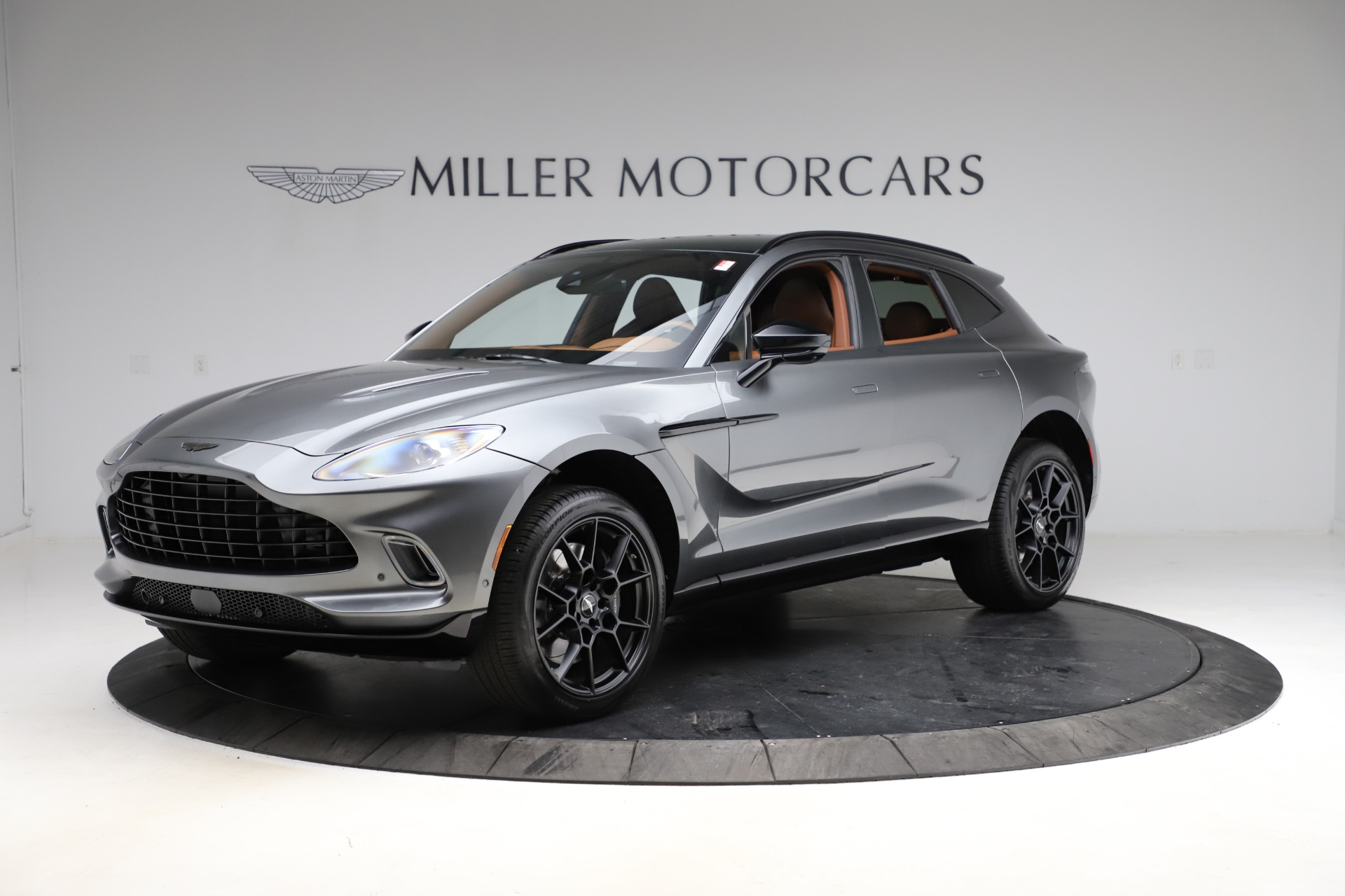 New 2021 Aston Martin DBX for sale $229,486 at Pagani of Greenwich in Greenwich CT 06830 1