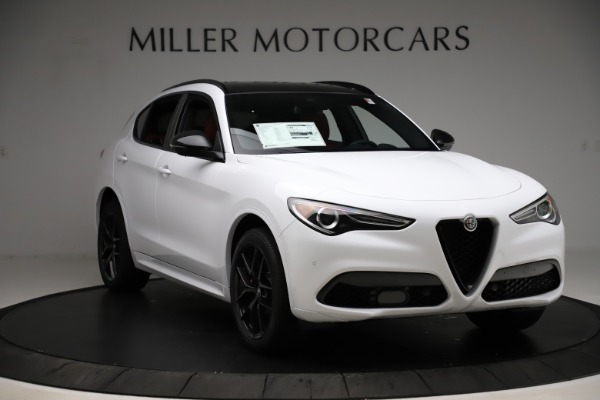 New 2020 Alfa Romeo Stelvio Ti Sport Q4 for sale Sold at Pagani of Greenwich in Greenwich CT 06830 11