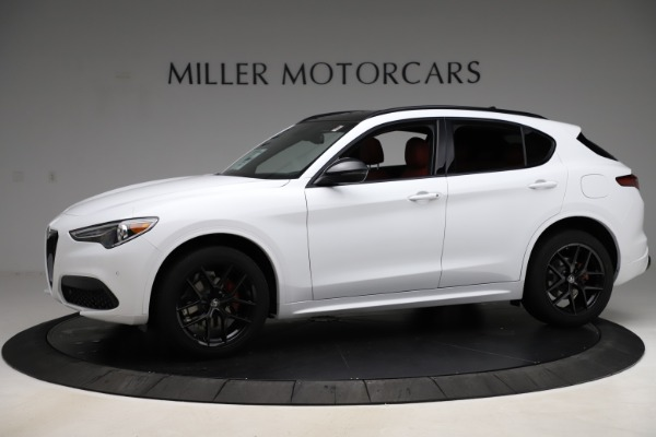 New 2020 Alfa Romeo Stelvio Ti Sport Q4 for sale Sold at Pagani of Greenwich in Greenwich CT 06830 2