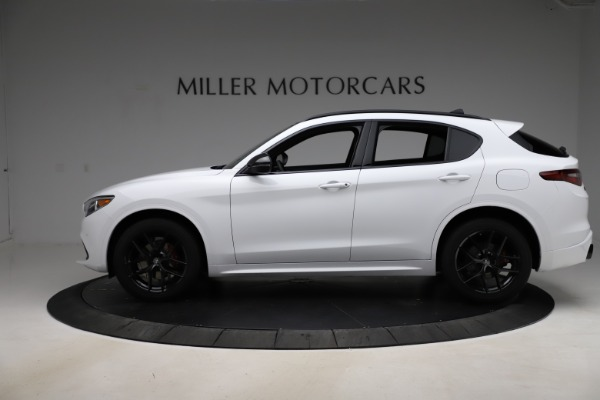 New 2020 Alfa Romeo Stelvio Ti Sport Q4 for sale Sold at Pagani of Greenwich in Greenwich CT 06830 3