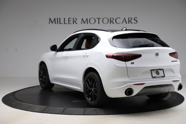 New 2020 Alfa Romeo Stelvio Ti Sport Q4 for sale Sold at Pagani of Greenwich in Greenwich CT 06830 5