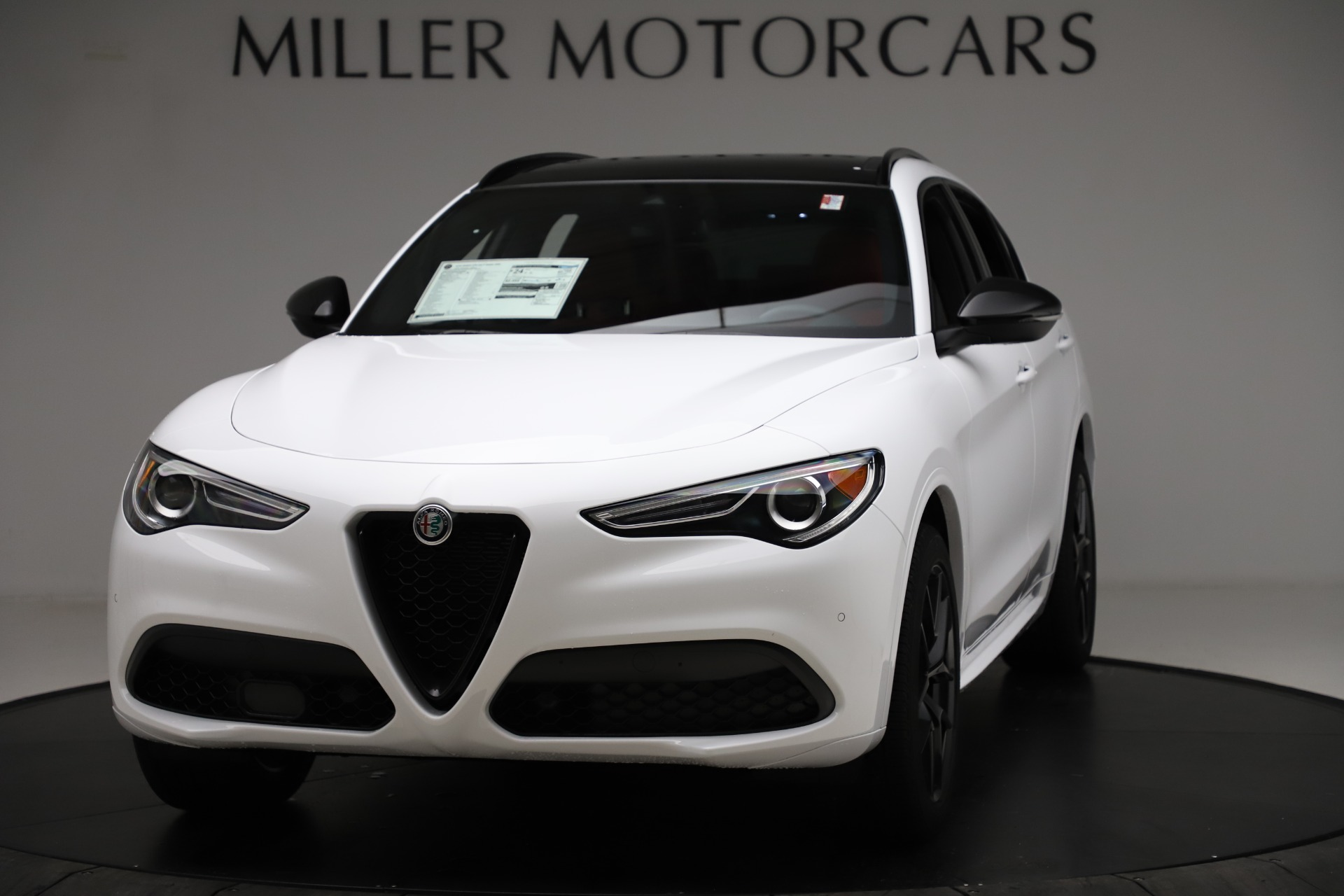 New 2020 Alfa Romeo Stelvio Ti Sport Q4 for sale Sold at Pagani of Greenwich in Greenwich CT 06830 1