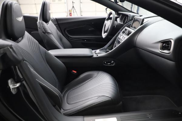 New 2021 Aston Martin DB11 Volante Convertible for sale $254,416 at Pagani of Greenwich in Greenwich CT 06830 20