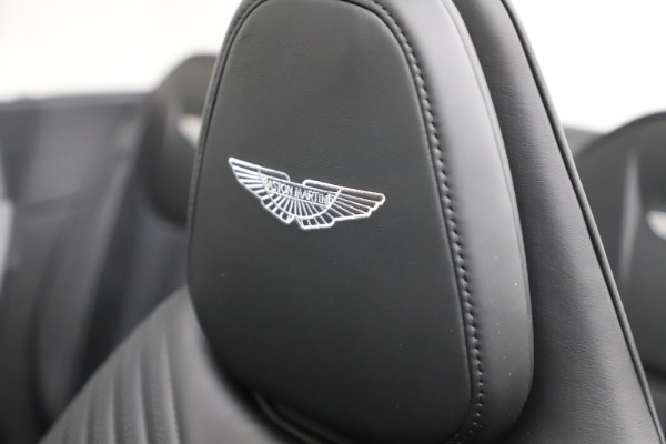 New 2021 Aston Martin DB11 Volante Convertible for sale $254,416 at Pagani of Greenwich in Greenwich CT 06830 23