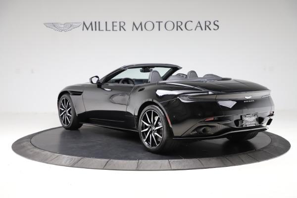 New 2021 Aston Martin DB11 Volante Convertible for sale $254,416 at Pagani of Greenwich in Greenwich CT 06830 4