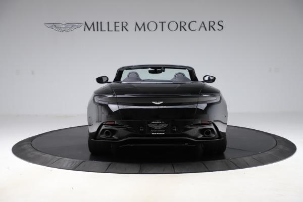 New 2021 Aston Martin DB11 Volante Convertible for sale $254,416 at Pagani of Greenwich in Greenwich CT 06830 5