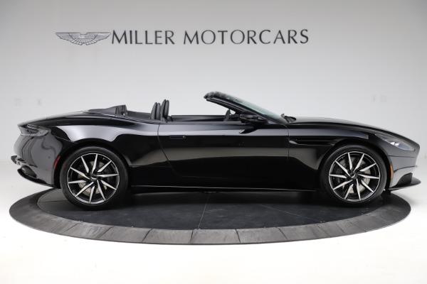 New 2021 Aston Martin DB11 Volante Convertible for sale $254,416 at Pagani of Greenwich in Greenwich CT 06830 8
