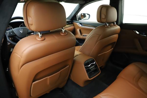 Used 2018 Maserati Quattroporte S Q4 GranLusso for sale Sold at Pagani of Greenwich in Greenwich CT 06830 22