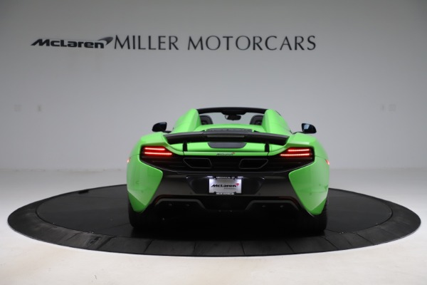 Used 2016 McLaren 650S Spider for sale Sold at Pagani of Greenwich in Greenwich CT 06830 4