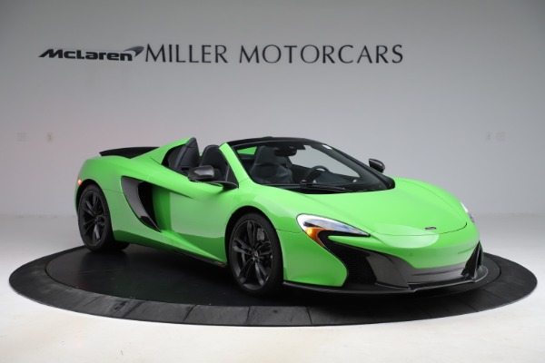 Used 2016 McLaren 650S Spider for sale Sold at Pagani of Greenwich in Greenwich CT 06830 7