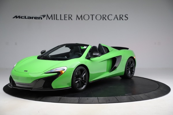 Used 2016 McLaren 650S Spider for sale Sold at Pagani of Greenwich in Greenwich CT 06830 1