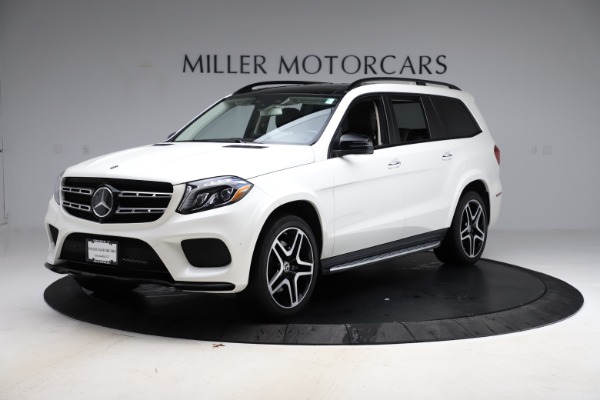 Used 2018 Mercedes-Benz GLS 550 for sale Sold at Pagani of Greenwich in Greenwich CT 06830 2