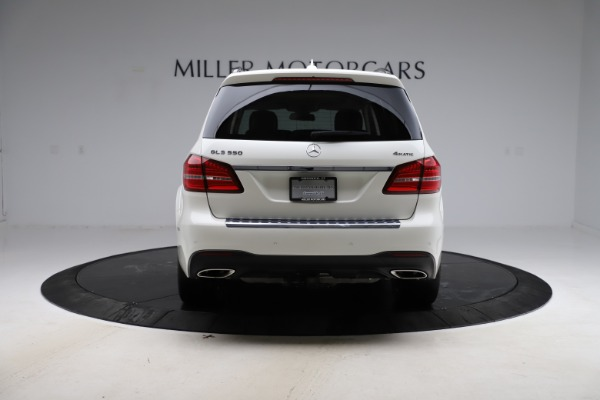 Used 2018 Mercedes-Benz GLS 550 for sale Sold at Pagani of Greenwich in Greenwich CT 06830 6
