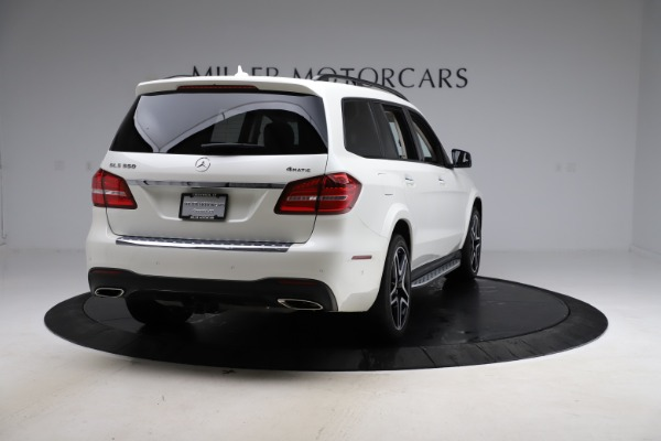 Used 2018 Mercedes-Benz GLS 550 for sale Sold at Pagani of Greenwich in Greenwich CT 06830 7