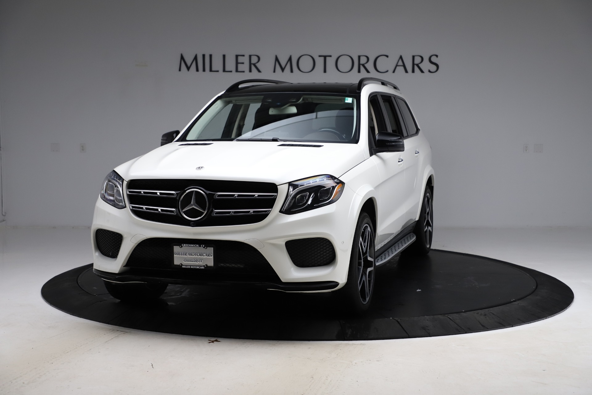 Used 2018 Mercedes-Benz GLS 550 for sale Sold at Pagani of Greenwich in Greenwich CT 06830 1