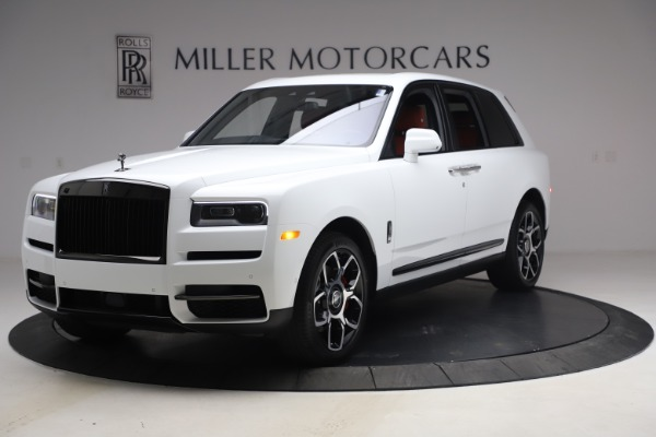 New 2021 Rolls-Royce Cullinan Black Badge for sale $431,325 at Pagani of Greenwich in Greenwich CT 06830 1