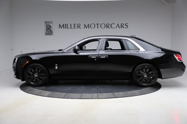New 2021 Rolls-Royce Ghost for sale $374,150 at Pagani of Greenwich in Greenwich CT 06830 4