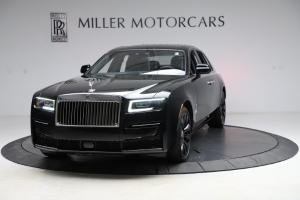 New 2021 Rolls-Royce Ghost for sale $370,650 at Pagani of Greenwich in Greenwich CT 06830 1