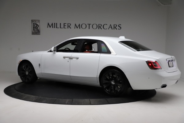 New 2021 Rolls-Royce Ghost for sale $390,400 at Pagani of Greenwich in Greenwich CT 06830 5