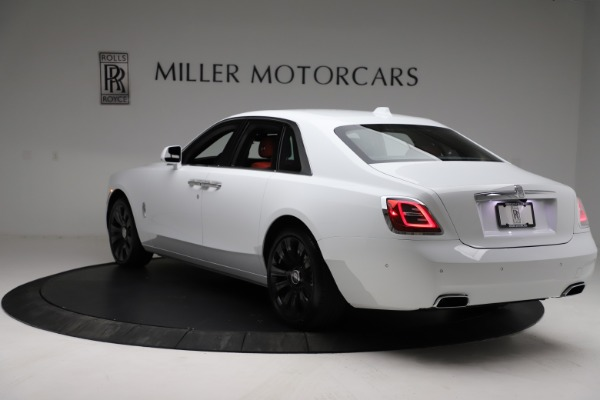 New 2021 Rolls-Royce Ghost for sale $390,400 at Pagani of Greenwich in Greenwich CT 06830 6
