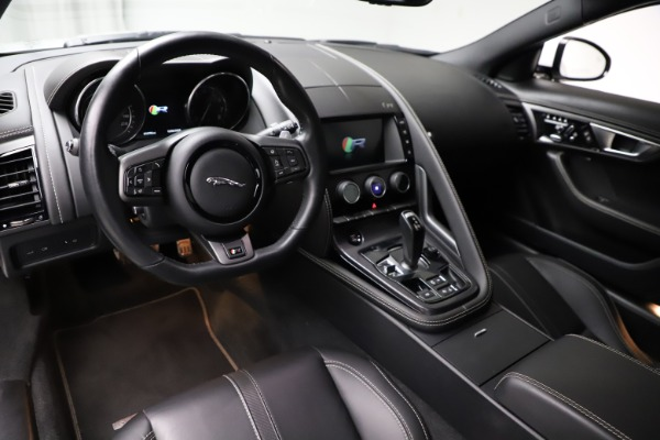 Used 2016 Jaguar F-TYPE R for sale Sold at Pagani of Greenwich in Greenwich CT 06830 13
