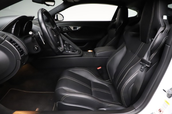 Used 2016 Jaguar F-TYPE R for sale Sold at Pagani of Greenwich in Greenwich CT 06830 14