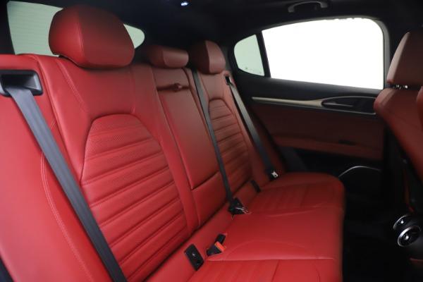New 2020 Alfa Romeo Stelvio Ti Sport Q4 for sale Sold at Pagani of Greenwich in Greenwich CT 06830 27