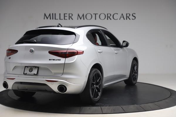 New 2020 Alfa Romeo Stelvio Ti Sport Q4 for sale Sold at Pagani of Greenwich in Greenwich CT 06830 8