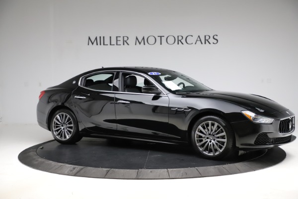 Used 2017 Maserati Ghibli S Q4 for sale $42,900 at Pagani of Greenwich in Greenwich CT 06830 10