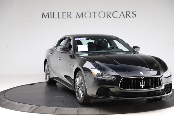 Used 2017 Maserati Ghibli S Q4 for sale $42,900 at Pagani of Greenwich in Greenwich CT 06830 11