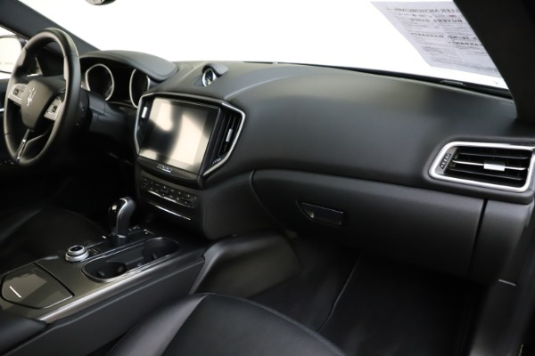 Used 2017 Maserati Ghibli S Q4 for sale $42,900 at Pagani of Greenwich in Greenwich CT 06830 24