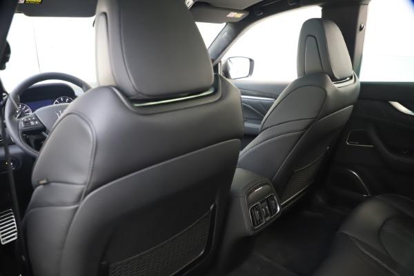 New 2021 Maserati Levante S Q4 GranSport for sale $107,135 at Pagani of Greenwich in Greenwich CT 06830 21
