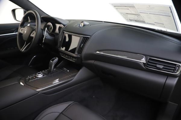 New 2021 Maserati Levante S Q4 GranSport for sale $107,135 at Pagani of Greenwich in Greenwich CT 06830 25