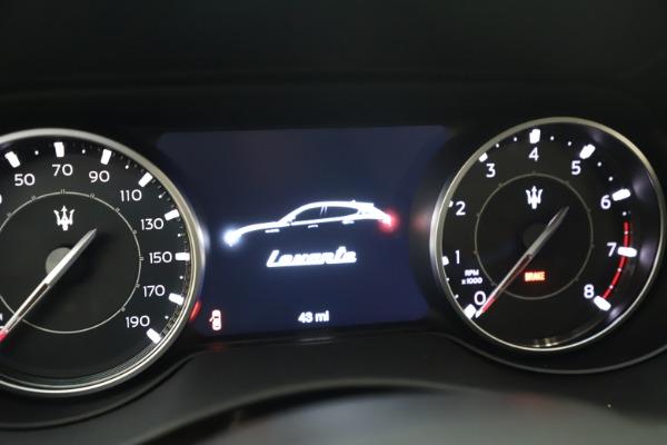 New 2021 Maserati Levante Q4 GranSport for sale $92,485 at Pagani of Greenwich in Greenwich CT 06830 24