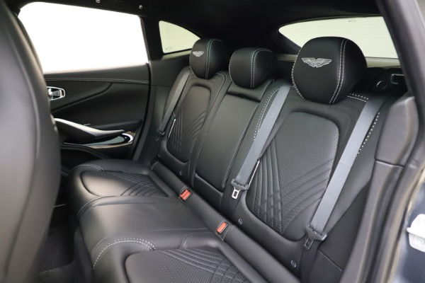 New 2021 Aston Martin DBX for sale $201,586 at Pagani of Greenwich in Greenwich CT 06830 17