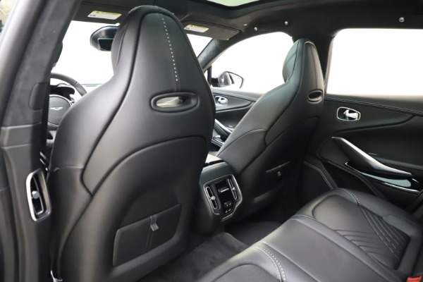 New 2021 Aston Martin DBX for sale $201,586 at Pagani of Greenwich in Greenwich CT 06830 19