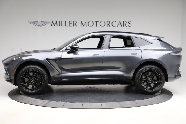 New 2021 Aston Martin DBX for sale $201,586 at Pagani of Greenwich in Greenwich CT 06830 2