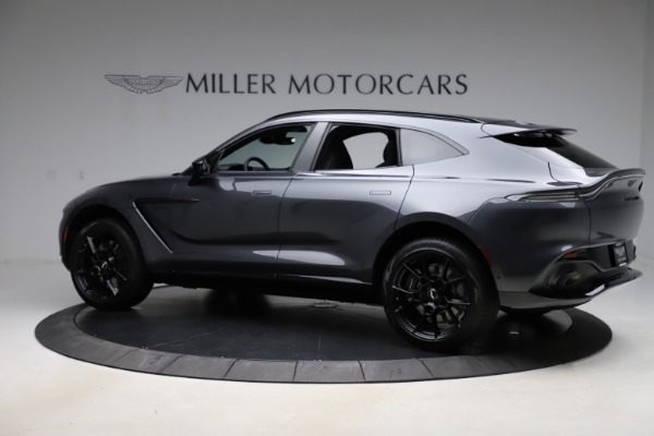 New 2021 Aston Martin DBX for sale $201,586 at Pagani of Greenwich in Greenwich CT 06830 3