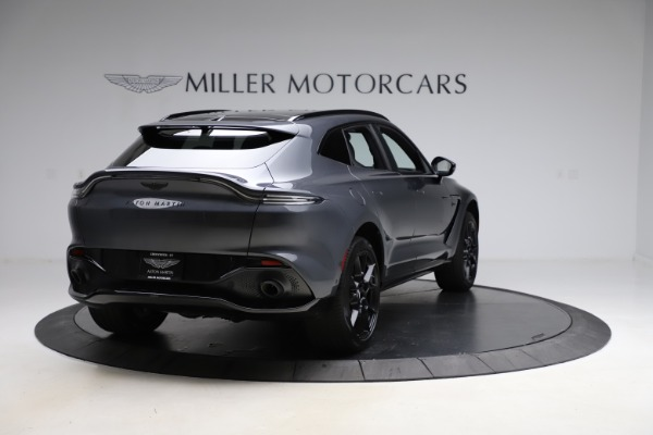 New 2021 Aston Martin DBX for sale $201,586 at Pagani of Greenwich in Greenwich CT 06830 6