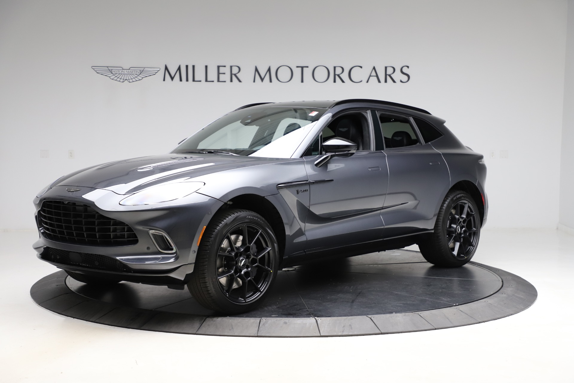 New 2021 Aston Martin DBX for sale $201,586 at Pagani of Greenwich in Greenwich CT 06830 1