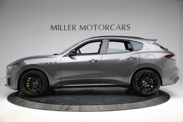 New 2021 Maserati Levante S Q4 GranSport for sale Sold at Pagani of Greenwich in Greenwich CT 06830 3